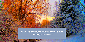 52 Ways To Enjoy Robin Hood's Bay: #30 Enjoy All The Seasons