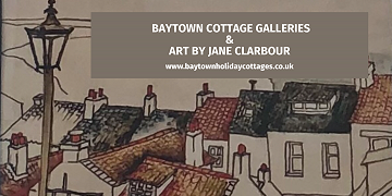 Baytown Cottage Galleries & Art by Jane Clarbour