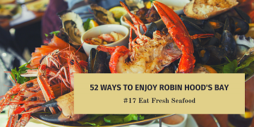 52 Ways to Enjoy Robin Hood's Bay: #17 Eat Fresh Seafood