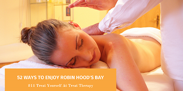52 Ways To Enjoy Robin Hood's Bay: #11 Treat Yourself at Treat Therapy